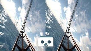 Fast VR Roller Coaster: 3D Video for VR Box, Samsung Gear VR & Google Cardboard