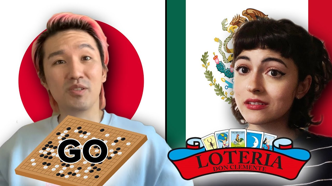 Japanese And Mexican People Swap Board Games thumbnail