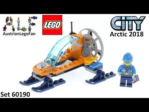 Vidéo LEGO City 60190 : L'aéroglisseur arctique