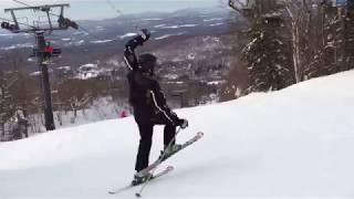 Comment faire du ski avec Gabriel D'Almeida Freitas