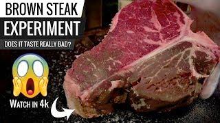 Steak OXIDATION Experiment! SURPRISING RESULTS!!!