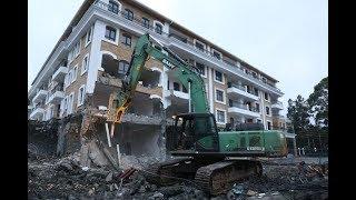 Grand Manor Hotel in Gigiri comes tumbling down—  PHOTOS & VIDEO