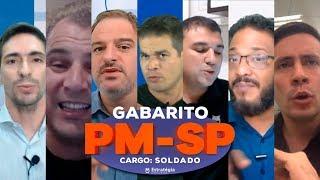 Gabarito da Prova PM-SP - Soldado