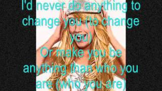 Ashley Tisdale  Love Me For Me  With Lyrics On Screen