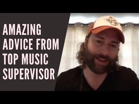 AMAZING Advice From a Top Music Supervisor - YouTube
