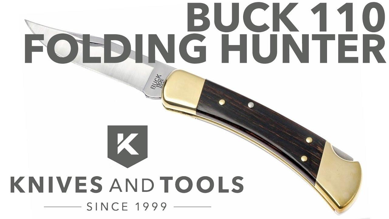 Buck 110 Folding Hunter | Günstiger shoppen bei knivesandtools.de