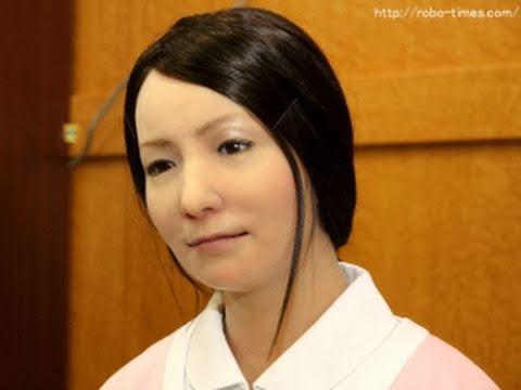 Life-like Android facial expressions (vid)