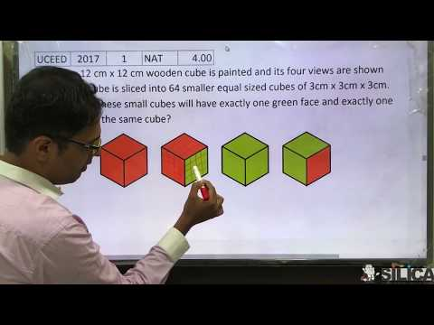 UCEED 2017 Solved Paper - Solution for Question No. 1