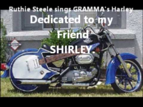 My Movie to SHIRLEY from Ruthie Steele Grammas Harley April 2013