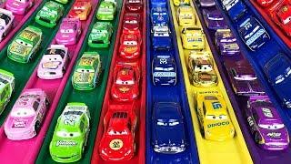 Cars 3 Colors Race Lightning mcqueen - Гоночные машины Тачки 3 - Racing Sports Cars