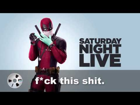 Deadpool (Viral Video 'Saturday Night Live Rant')