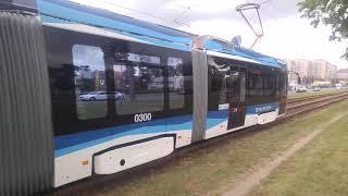 супер новый Трамвай Метелица Stadler