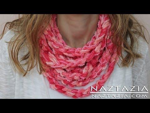 Crochet Macaron Diy Learn How To Make Infinity Scarf Circle Loop