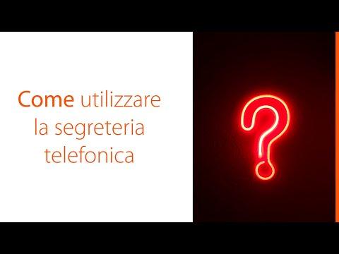 Gigaset - Come utilizzare la segreteria telefonica