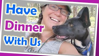 Solo Female RV Life Vlog//Easy Vegan Dinner in My Leadville , Colorado Camp