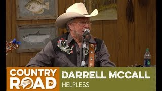 "Darrell McCall sings ""Helpless"" on Larry Country Diner"