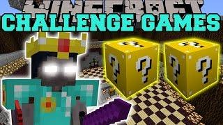 Minecraft: WALKER KING CHALLENGE GAMES - Lucky Block Mod - Modded Mini-Game