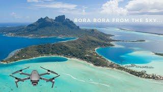BORA BORA 4K !!! THE PARADISE FROM THE SKY !!! (DJI MAVIC 2 PRO )