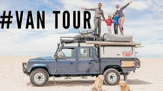 #16 // Comment vivre à 6 dans un Land Rover Defender ? (video) // How can a family of 6 live in a La