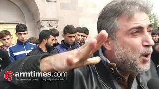 Գյումրիում պայթյուն է սպասվում. Գեւորգ Հարոյանի հարազատների բողոքին կմիանան նաեւ այլ ծնողներ