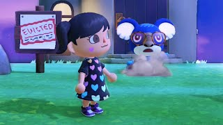 Trying To Kick Out Villagers In Animal Crossing New Horizons