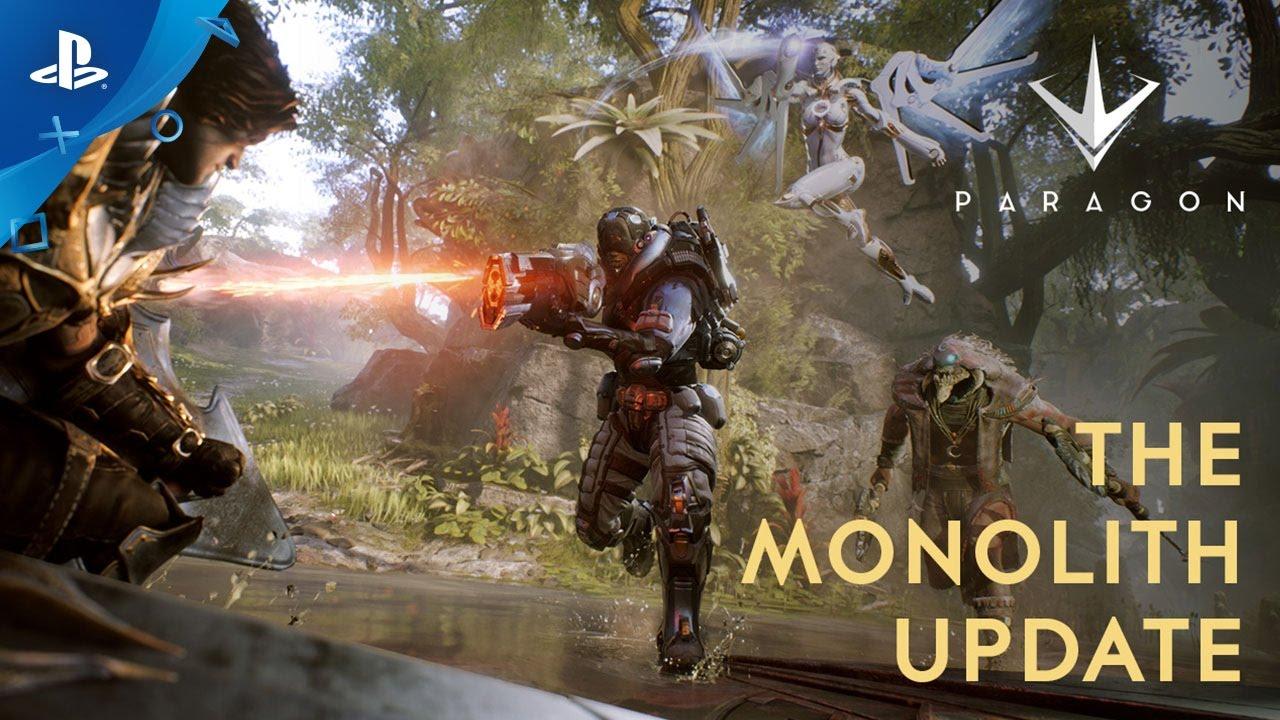 Atualização Monolith de Paragon: Um Novo Jogo