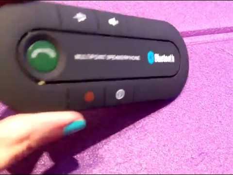 GHB Kit de Manos Libres Receptor Bluetooth, Música en el coche en un momento