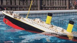 LEGO Titanic Sinking 【𝐇𝐔𝐆𝐄 𝟕 𝐅𝐎𝐎𝐓 𝐌𝐎𝐃𝐄𝐋】