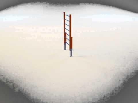 Панора вращения комплекса Шведская стенка START LINE