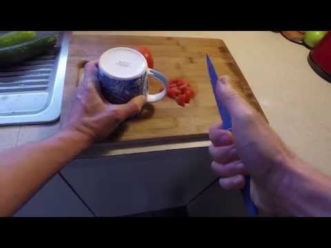 Can you sharpen a kitchen knife without a tool?