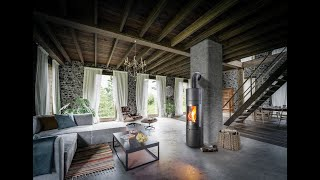 Аккумуляционная печь Haas+Sohn Ovalis Grande , каминофен від компанії House heat - відео 1