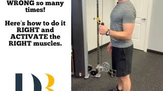 I've seen this rotator cuff exercise done wrong so many times...