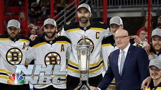 NHL Stanley Cup Playoffs 2019: Bruins vs. Hurricanes | Game 4 Extended Highlights | NBC Sports