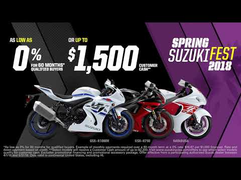 2018 Suzuki GSX-R1000R in Warren, Michigan