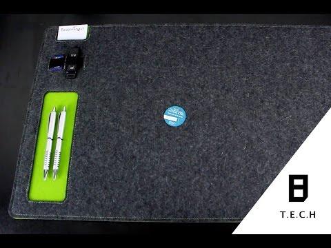 Schreibtischunterlage (Vorstellung)