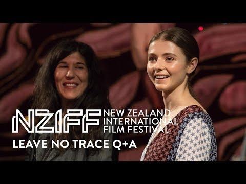 Video trailer för Leave No Trace Q+A with Debra Granik and Thomasin Harcourt McKenzie