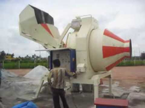 Reversible Drum Fertilizer Mixer Machine 1500 KG