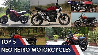Top 5 Neo Retro Bikes In India | carandbike
