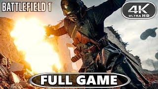 Battlefield 1 4K Full Game Gameplay Walkthrough - BF1 Full Campaign 4K 60fps