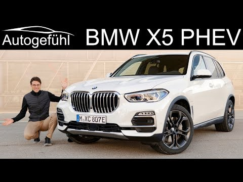 BMW X5 PHEV 45e FULL REVIEW electrified with new range - Autogefühl