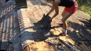 How to Take Shingles off QUICK and EASY This old house Home Improvement