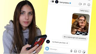 I Dm'd My Selfie to 100 Celebrities and Asked Them on a Date (i found a lover)