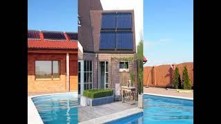 Сезонный солнечный коллектор для бассейна от компании Производственная компания «АНДИ Групп» - видео