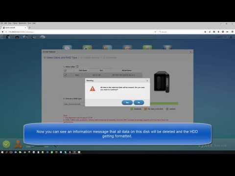 Zyxel NAS Series - How to Create a Volume on Zyxel NAS