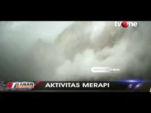 Gunung Merapi Terus Keluarkan Lava Pijar