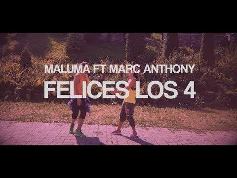 Maluma ft. Marc Anthony - Felices los 4 - Salsa version by Dudu Cristina & Claudiu Gutu