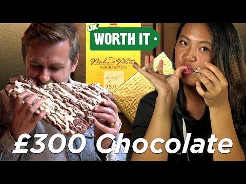£1.95 Chocolate Vs. £300 Chocolate