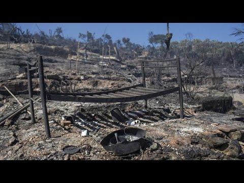 Νέα πυρκαγιά στην Μόρια