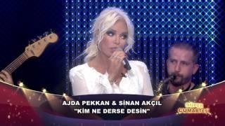 Ajda Pekkan & Sinan Akçıl - Kim Ne Derse Desin (Canlı Performans)