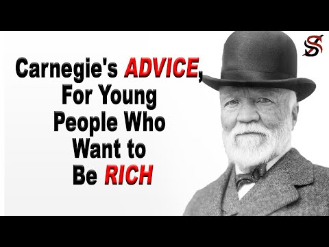 , title : 'Andrew Carnegie's Advice for Young People Who Want to Be Rich